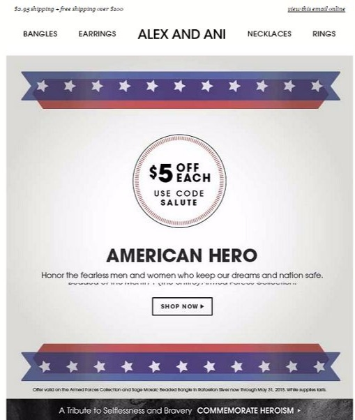 Alex and ani coupon codes