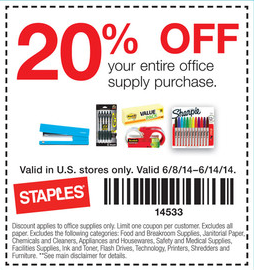 office supply coupon printable